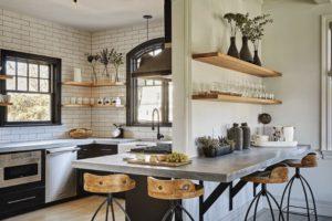 Маленькая Кухня в стиле Лофт в квартире — 14 способов максимизации пространства