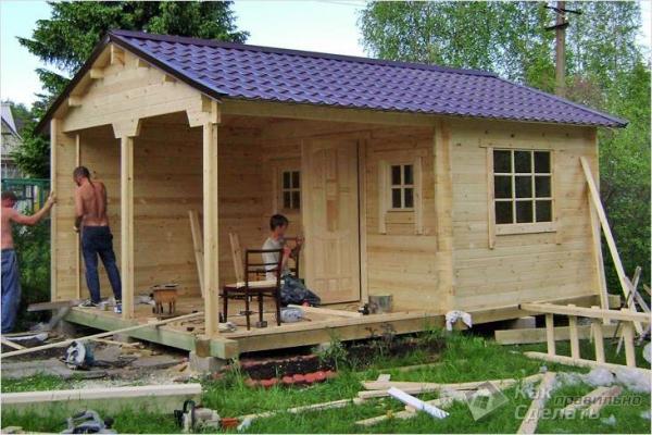 Сколько стоит построить садовый домик - стоимость строительства садового домика