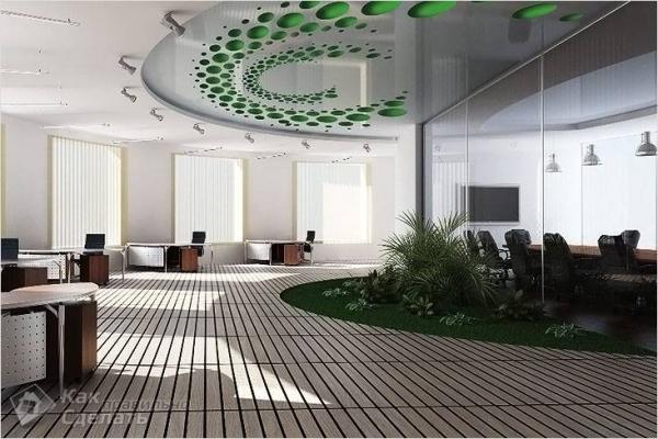 Как сделать натяжной потолок с 3D рисунком - особенности установки