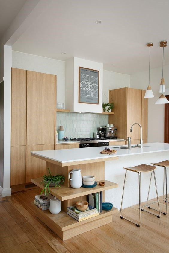 Дизайн интерьера кухни в современном стиле