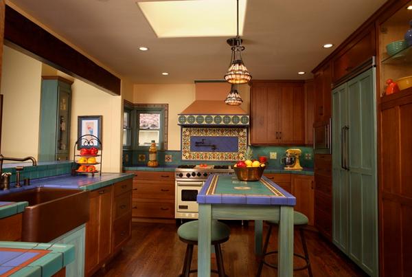 Кухня в средиземноморском стиле: ФОТО, интерьер, дизайн, Часть 1