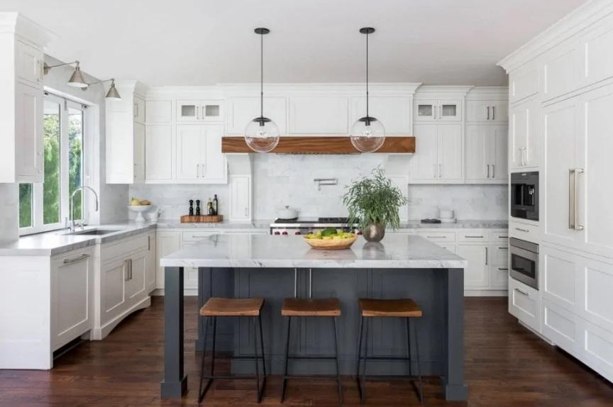 35 интересных идей интерьера кухни в стиле Контемпорари