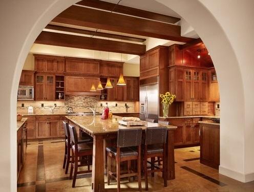 26 идей оформления кухни Кантри: Фото, Дизайн, Советы